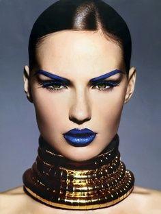 International Klein Blue  #Inspired #BiographyTrend #FolkShock #Collection #Color #Fashion #Makeup #Biography