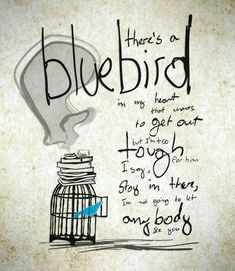 White Bird Tattoos, Small Bird Tattoos, Some Quotes, Words Quotes, Quotes Quotes, Henry Charles Bukowski, Bird Painting Acrylic, Bluebird Tattoo, Poetry Art