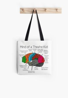 Mind Of a Theater Kid Tote Bag Love funny quotes and inspirational quotes about the sea & ocean? ArtyQuote Canvas Art & Apparel was made for you!Check out our canvas art, prints & apparel in store, click that link ! Theatre Jokes, Theater, Cute Quotes For Kids, Kids Tote Bag, Adventure Quotes, Adventure Travel, Adventure Time, Best Travel Quotes, Old Shows
