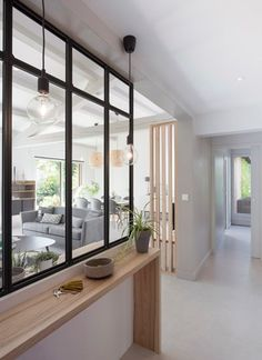 Home Architecture: A breath of fresh air - Marion Lanoë, Interior designer and . - Home Architecture: A breath of fresh air – Marion Lanoë, Interior designer and decorator, L … - Home Staging, Style At Home, Interior Design Living Room, Living Room Decor, Dining Room, Dining Table, Home Fashion, Home And Living, Interior Architecture