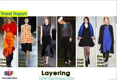 Layering #FashionTrend for Fall Winter 2014 #Trends #Fall2014 #FW2014