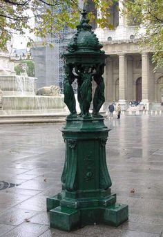 Wallace Fountain, Saint Sulpice Place, Paris VI