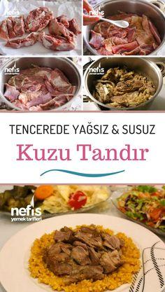 Wie macht man Lamm Tandoori Rezept im Topf? Tandoori Recipes, Meat Recipes, Slow Cooker Recipes, Vegetarian Recipes, Dinner Recipes, How To Cook Lamb, Wie Macht Man, Food Articles, Turkish Kitchen