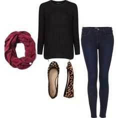 Laid Back Animal Prints + a great pair of skinnies