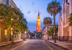 Church Street in Charleston, South Carolina. Voted the Friendliest city in the world!
