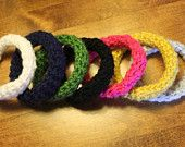 PATTERN for Crochet Bracelets by KraftyShack on Etsy, $2.99 USD