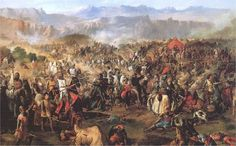 The Battle of Las Navas de Tolosa, known in Arab history as the Battle of Al-Uqab, took place on 16 July 1212 and was an important turning point in the Reconquista and in the medieval history of Spain.