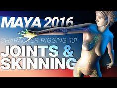 Character Joints and Skinning in Maya - Computer Graphics & Digital Art Community for Artist: Job, Tutorial, Art, Concept Art, Portfolio