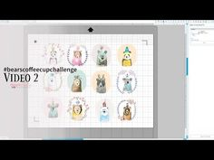 The Blog post about this video and challenge details: http://wilnafurstenberg.com/bears This is video 1 of 4 in a tutorial in making a little coffee cup albu...
