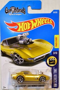 '68 Corvette - Gas Monkey Garage | Model Cars  | hobbyDB