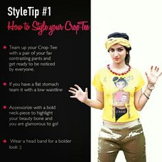 Step out in Style #styletip1