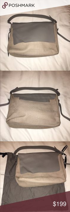 All Saints suede and leather hobo bag Condition like new, worn once. Embossed suede. Great Spring bag. All Saints Bags Shoulder Bags