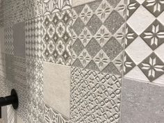 Decorative, tactile tiles by Porcelanosa