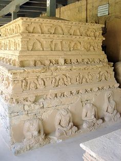 Jaulian Buddhist Stupa.The history of Pakistan is very diverse including many years under Buddhism. This, part of the Jaulian Buddhist Stupa is located in Taxila and was built towards the end of the Kushana Empire (2nd - 4th century AD).