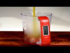 Digital Scale with Removable Measuring Cup how handy is this..