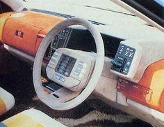 Mazda MX-02, 1983 - Interior