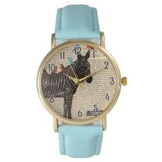 Olivia Pratt Words and Birds Boyfriend Watch ($25) ❤ liked on Polyvore featuring jewelry, watches, light blue, stainless steel watches, stainless steel jewellery, buckle watches, stainless steel jewelry and stainless steel wrist watch