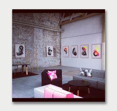 Kate Banazi – Fluoro Optics & Astronaut Screen Prints