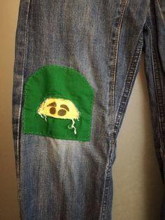 En sjovere måde at lappe bukser på 😊