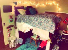 I am loving my dorm room at Valdosta State University! Go Blazers! ❤️