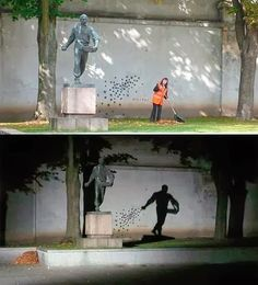 A estátua que esconde um segredo