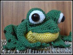 Die 11 Besten Bilder Von Frösche All Free Crochet Crochet Animals