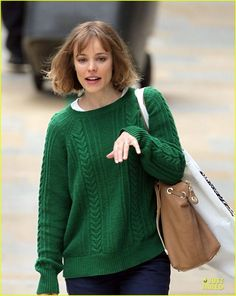 Rachel McAdams: 'About Time' at Paddington Station!