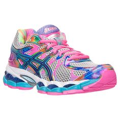 Women's Asics GEL-Nimbus 16 Running Shoes| Finish Line | Lightning/Passion/Prism - for high arch/supination