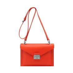 Mulberry Colour - Fiery Red | Mulberry - Kensal Small Shoulder Bag in Fiery Red Velvet Calf