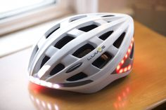 Lumos Light Up Bike Helmet Keeps Cyclists Safe During The Most Dangerous of Commutes -  #bikes #cyclists #night #safety