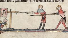 Oxford, Bodleian Library, MS Bodley 264 (14th c) Quintaine