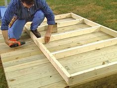 How to Build a Deluxe Playhouse -- a little smaller scale than I have in mind, but good basic design Girls Playhouse, Backyard Playhouse, Build A Playhouse, Wooden Playhouse, Backyard Playground, Playhouse Ideas, Cubby Houses, Play Houses, Outdoor Sheds