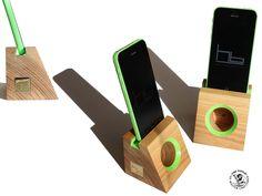 Acoustic amplifier,  phone dock, speaker by HBcotswold on Etsy