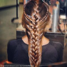 Intricate French braid. By Casey Powell.
