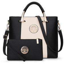 047e72fe61d0 2017 Luxury Women Leather Handbags Set Designer Handbag High Quality Big Shoulder  Bag Famous Brand Tote Ladies Hand Bags