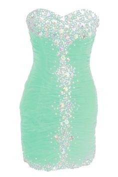 Mint Short Prom Dress Short Prom Dresses