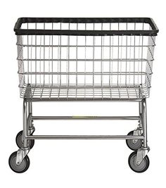 R B Wire 200f Large Capacity Frame Metal Laundry Cart
