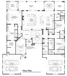 Aurora – Floor Plan Add a door from the study to the master closet. Maybe one of… Aurora – Floor Plan Add a door from the study to the master closet. Maybe one of those hidden doors! New House Plans, Dream House Plans, House Floor Plans, My Dream Home, Bedroom Floor Plans, The Plan, How To Plan, Toll Brothers, Home Design Plans