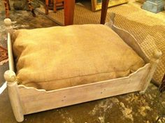 Polish & Patina: New dog beds in shop