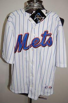 NWT Majestic Official NY Mets Pedro Martinez #45 MLB Players Choice BOYS 10/12