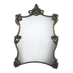 """42"""" Moorefield Gold Leaf Mirror"""
