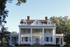 southern plantations, white houses, dream homes, the notebook, shutter