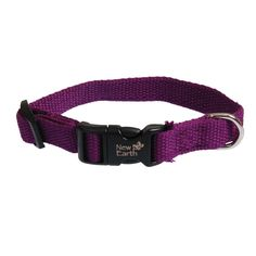 New Earth Soy Dog Collar >>> Don't get left behind, see this great dog product : Collars, Harnesses and Leashes