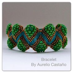 Sculptured bracelet