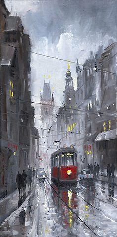 yuriy shevchuk | Yuriy Shevchuk › Portfolio › Prague Old Tram 03