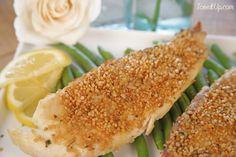 Quinoa Crusted White Fish