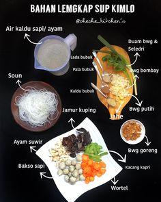 Indonesian Food Traditional, Indonesian Cuisine, Food N, Diy Food, Food And Drink, Bengali Food, Cooking Recipes, Healthy Recipes, Batik Dress