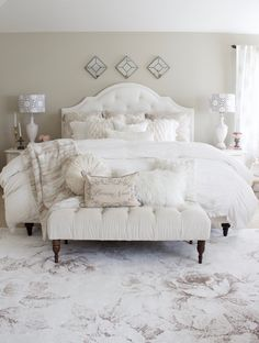 Master Bedroom Refresh with eSale Rugs   Part 1