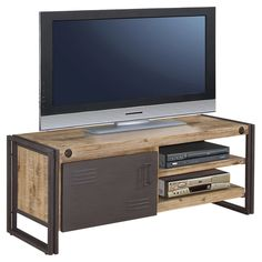 Have to have it. Moe's Home Collection Brooklyn Small TV Table - Natural / Gray - $772.8 @hayneedle
