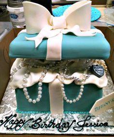 Jewelry box full of jewels cake. Gorgeous!